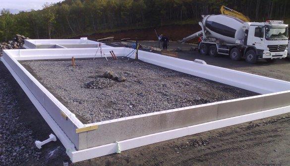 fiberarmert betong